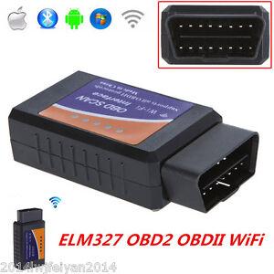 elm327 obdii obd2 interface wifi car diagnostic scanner auto scan tool adapter 4651126814802 ebay. Black Bedroom Furniture Sets. Home Design Ideas