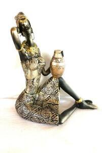 8-034-Ochun-Figurine-Statue-Oshun-Yemaya-Oya-Santeria-23152A