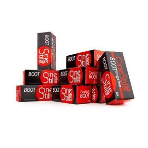 10x Cinestillfilm 800 Tungsten 120 Rollfilm Mittelformat Farbfilm Analog Film