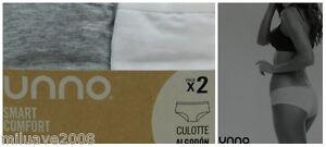Pack-de-2-bragas-braguitas-culote-algodon-elastico-blanco-gri-UNNO-SMART-COMFORT