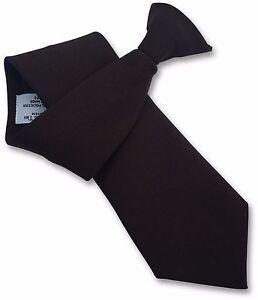 Poly Dupion Dupioni Shantung Mens Clip on Clipper Ties