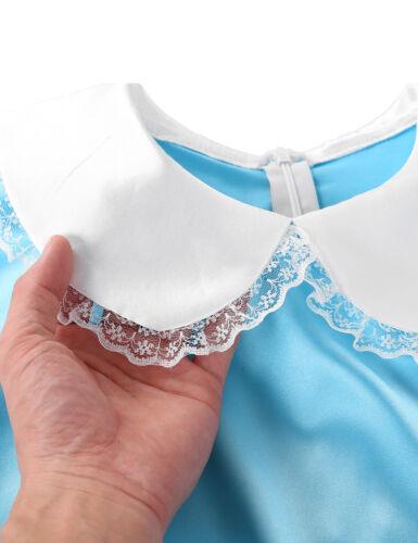 Men Sissy Maid Dress Crossdressing Fancy Dress Panties Brief Costume Outfit Plus