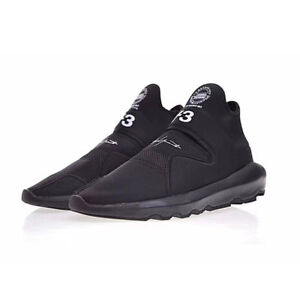 13a77cfa3d5c NEW Y3 Suberou Yohji Yamamoto Sneakers Men s Black Boost Triple ...