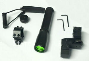 Green-Laser-ND-30-Long-Distance-Designator-Torch-with-Adjustable-Scope-Mount