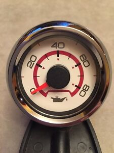 NOS Faria Older Boat 80 PSI Oil Pressure Gauge~Gas Engine~Marine