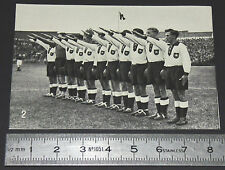 BERLIN 1936 JEUX OLYMPIQUES OLYMPIC GAMES FOOTBALL DEUTSCHLAND MANNSCHAFT