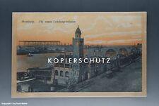 Ansichtskarte Hamburg Die neuen Landungsbrücken vermutlich um 1925