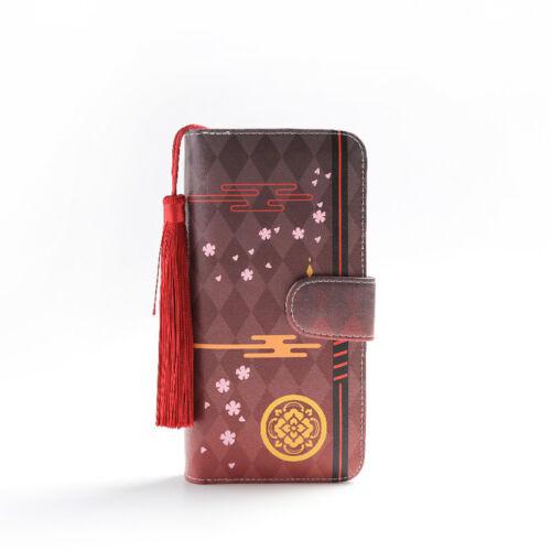 Touken Ranbu Online Mikazuki Munechika Wallet Purse Tsurumaru Kuninaga Gift