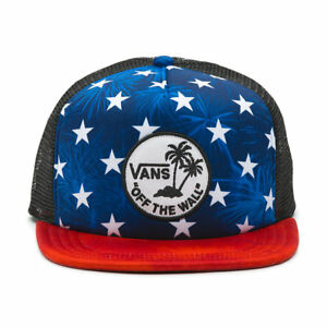 c99a3dda764 Vans SURF PATCH Trucker Hat NEW Snapback Cap OFF THE WALL America ...