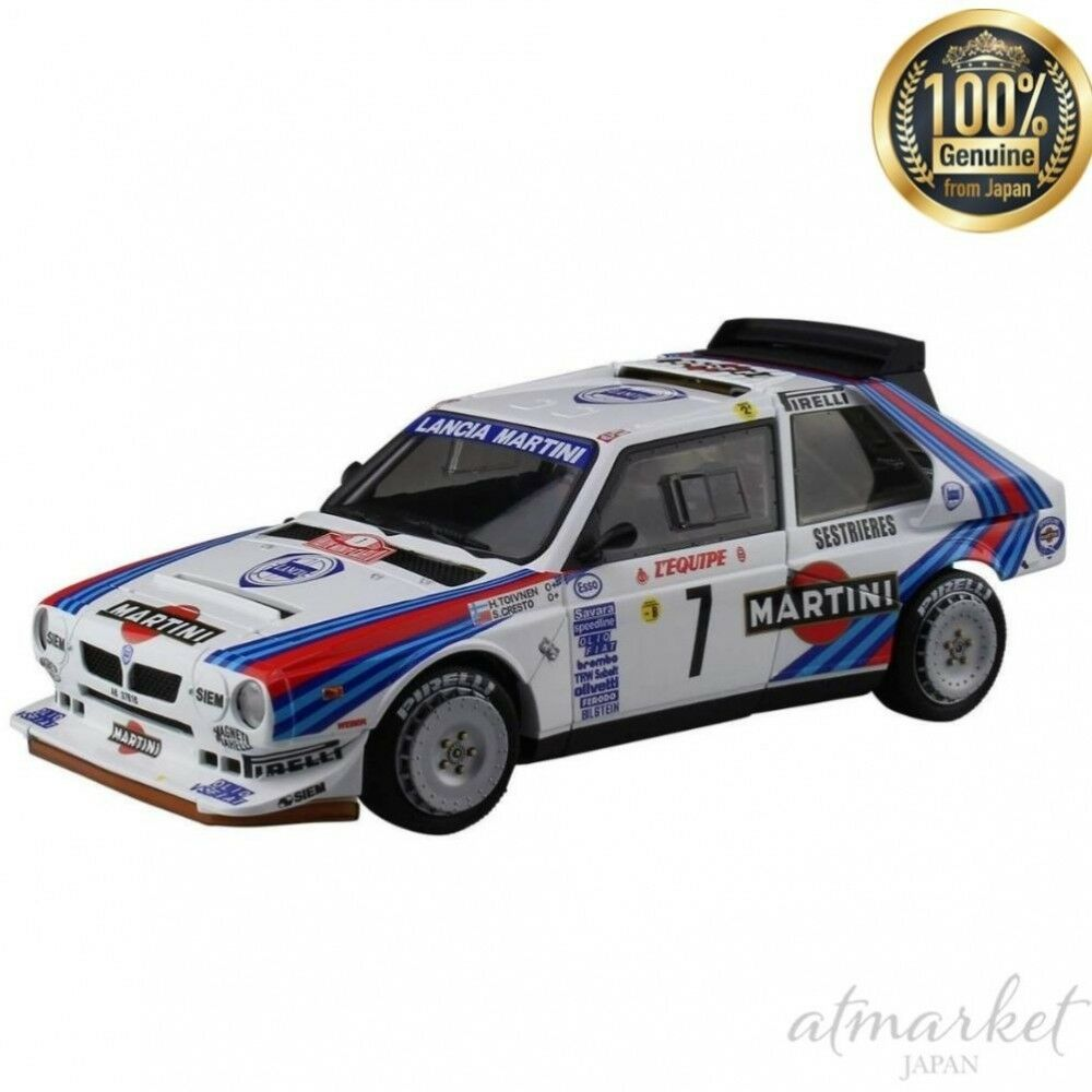 Aoshima Mini Voiture Plastic Model beemax Series No.23 1 24 LANCIA Delta S4 1986 NEUF