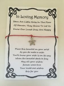 WISH KEY CHARM FEATHER BUTTERFLY IN LOVING MEMORY MEMORIAL SYMPATHY CARD GIFT