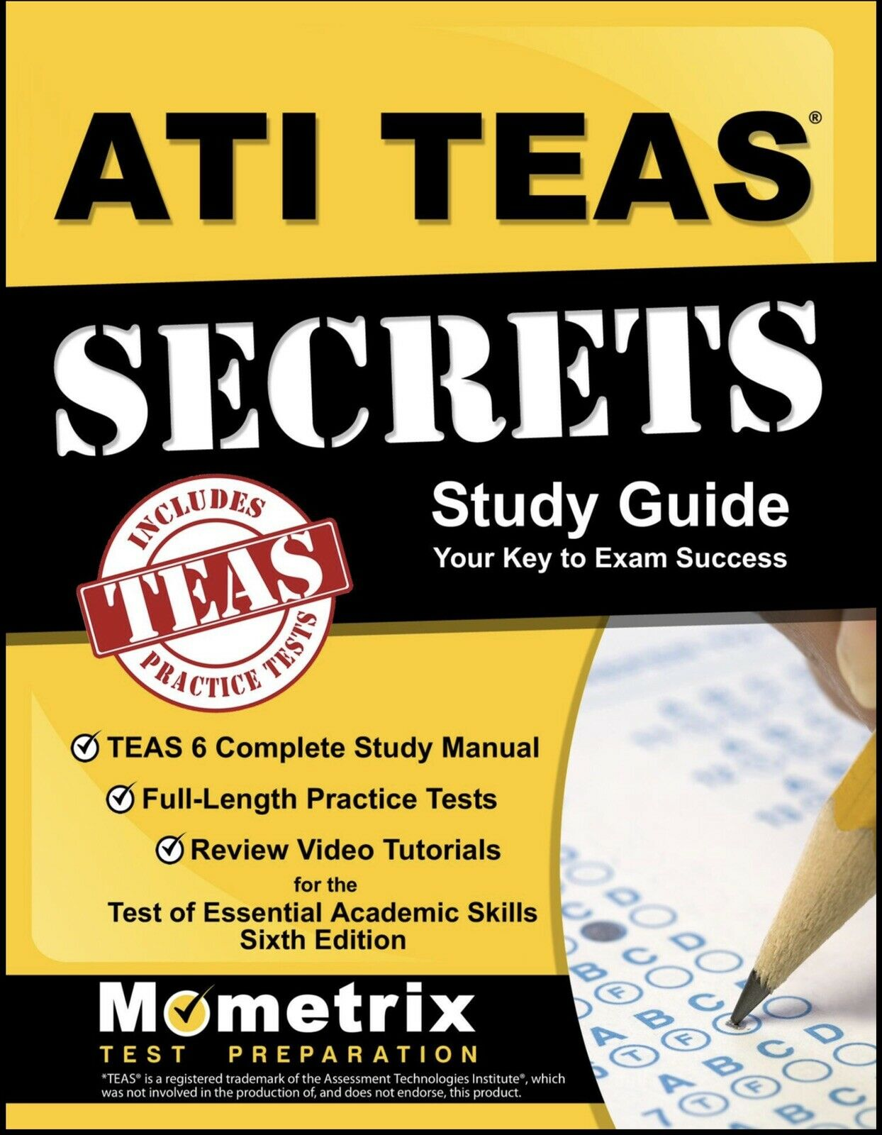 ATI Teas Mometrix: Secret Study Guide 2