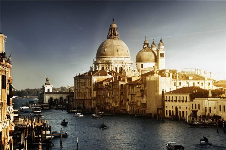 Grand Canal Venice  Gondola 3D Full Wall Mural Photo Wallpaper Print Decal