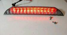 06-12 OEM Mitsubishi Eclipse rear spoiler clear LED third brake light wing