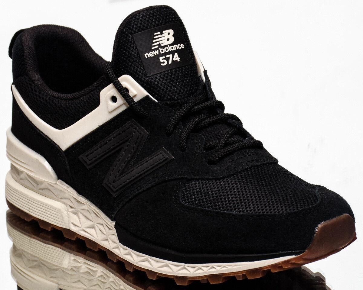 New Balance Wmns 574 Sport Women's new NB Black Cream Casual shoes WS574-SFK