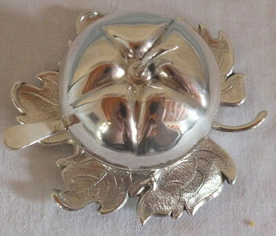 Have An Inquiring Mind Head Solid Silver Salt Pepper Mustard Silver Apple Other Antiques