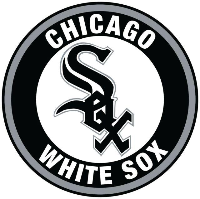Chicago White Sox Circle Logo Vinyl Decal / Sticker 10 Sizes!!!