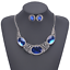 Fashion-Elegant-Women-Bib-Crystal-Pendant-Statement-Chain-Chunky-Choker-Necklace miniature 5