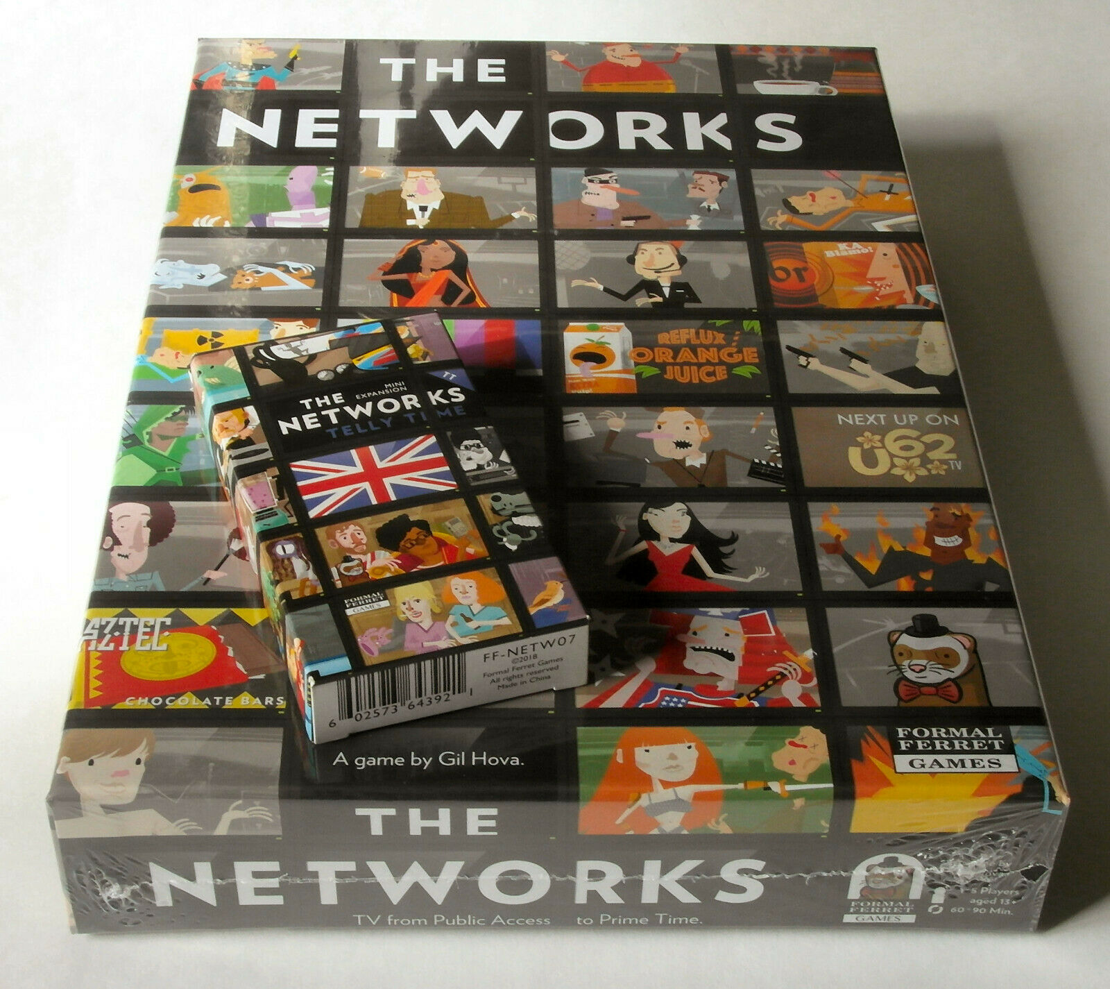 Networks + Networks  Telly Time Expansion - Formal Ferret Games - 2016 2018