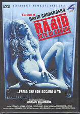 RABID - SETE DI SANGUE - DVD (NUOVO SIGILLATO) DAVID CRONENBERG