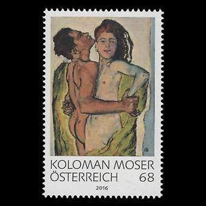 Austria-2016-Modern-Art-in-Austria-034-Koloman-Moser-034-Paintings-MNH