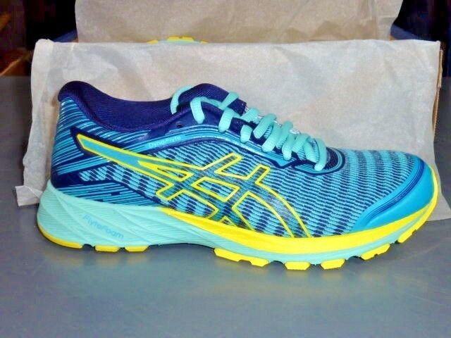 ASICS DynaFlyte shoes Womens Running Aquarium Sun Indigo blueee T6F8Y 3903 size