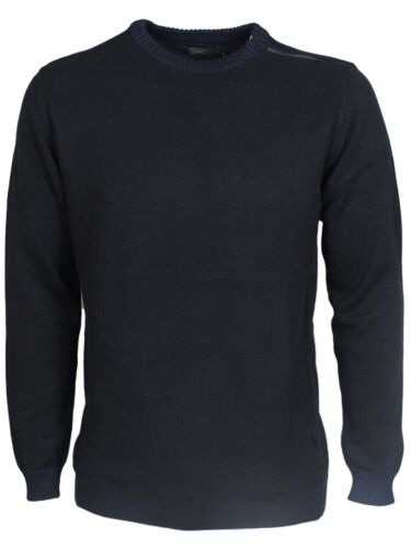 Mens Jack /& Jones Sweatshirt Crew Neck Long Sleeve Navy Grey Designer All Sizes