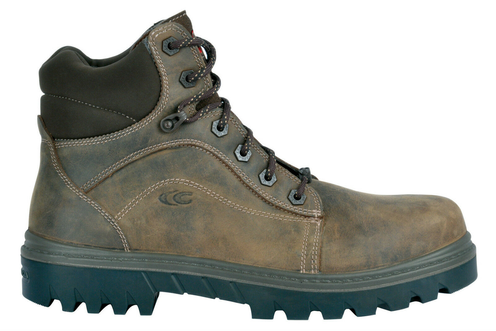 Cofra Oakland BIS S3 SRC Waxy braun Metal Free Safety Stiefel Composite Toe Cap