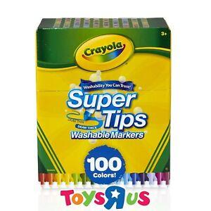 Crayola 100 SuperTips Markers
