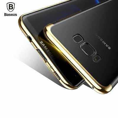 Baseus Slim Electroplated Hard Case Back Cover For Samsung Galaxy S8 / S8 Plus