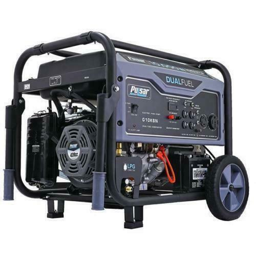 Pulsar G10kbn 10000w Portable Dual Fuel Generator With Electric Start Space Gray For Sale Online Ebay