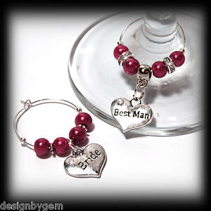 Beautiful-Wine-red-wedding-wine-glass-charms-for-top-table-or-favours-decor