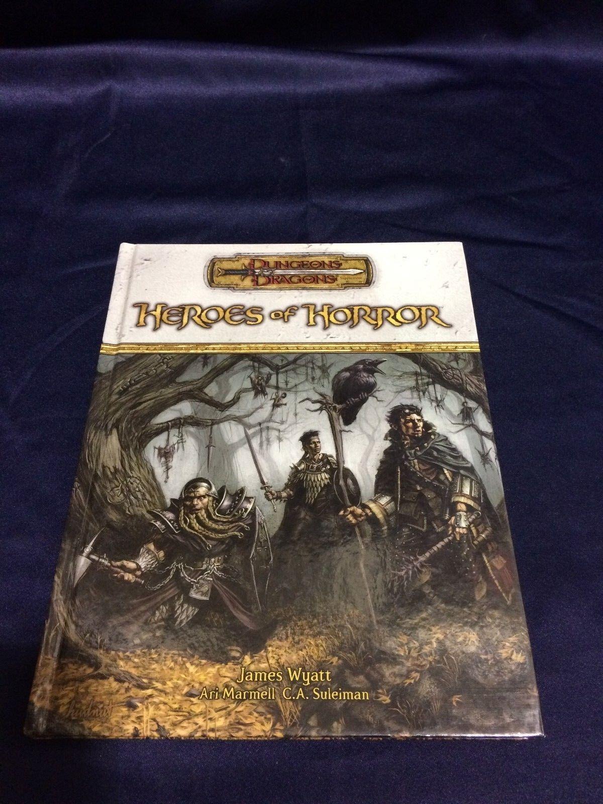 Dungeons & Dragons Heroes of Horror Rulebook