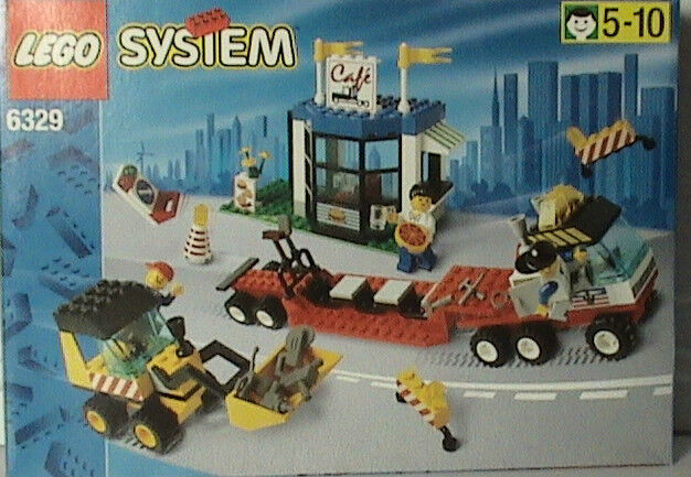 Lego Town 6329 TRUCK STOP New Sealed