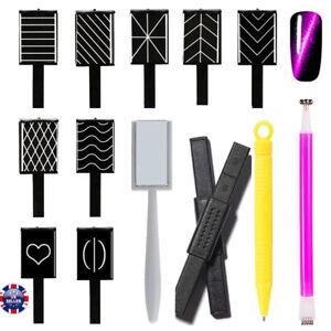 11-Design-Cat-Eye-Gel-Polish-Magnet-Sticks-for-Manicure-UV-Nail-Art-Nail-Magnet