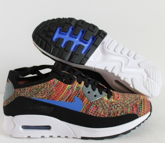 366900d6cc6f5 Nike Air Max 90 Ultra 2.0 Flyknit Multi Color Sz 8 881109-001 DS ...