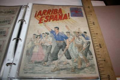6  LA UNIDAD DE ESPAÑA CASTRONUÑO-VALLADOLID 1940 CUPONES DE RACIONAMIENTO