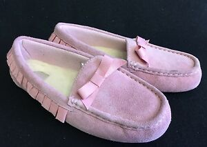 Image is loading UGG-Rosea-Ruffles-Slippers-Shoes-girl-039-s-