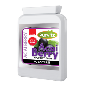 Acai-Berry-1000mg-Pure-Suplemento-dietetico-ayuda-Detox-capsulas-perdida-de-peso-Reino-Unido