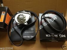 MG ZT + ROVER 75 TIMING BELT KIT WITH WATER PUMP 2.0 & 2.5 KV6 FREELANDER