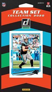 2020-Panini-Football-Carolina-Panthers-Team-Set-10-Cards-W-Drafted-Rookies
