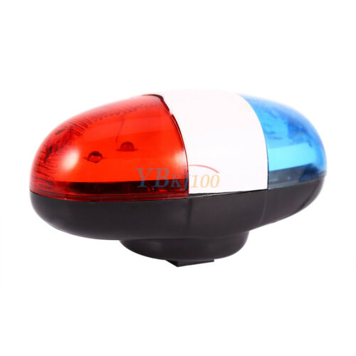 Kids Cycling Bike 6 LEDs Electric Horn 4 Sounds Bicycle Police Siren Lights Gear
