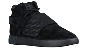 Adidas Men 's Tubular Invader Strap BB1398 Black/Black NWT NIB 3 stripes