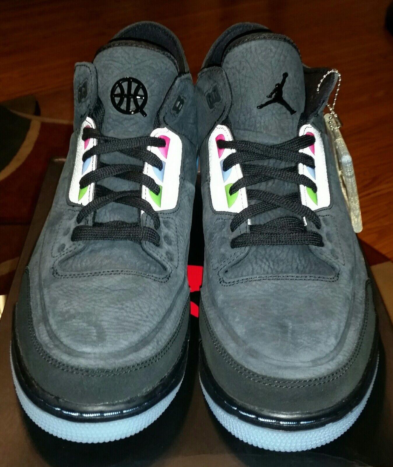 online store bdd97 b03f9 ... Air Jordan 3 Retro SE Q54 Q54 Q54 AT9195 001 Quai 54 men s 12 New  deadstock ...