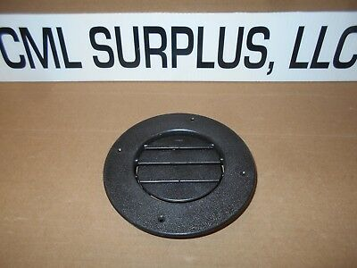 1 Rotaire 6 1 2 Quot Round Black Heat Ac Outlet Vent Rv