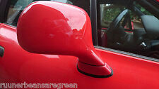 OEM BMW Z3 E36 pre post facelift Driver's door wing mirror Hell Red OSF off side