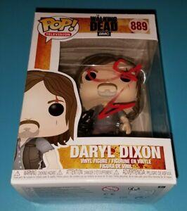 Norman Reedus Autographed Funko Pop PSA jsa Walking Dead Daryl signed
