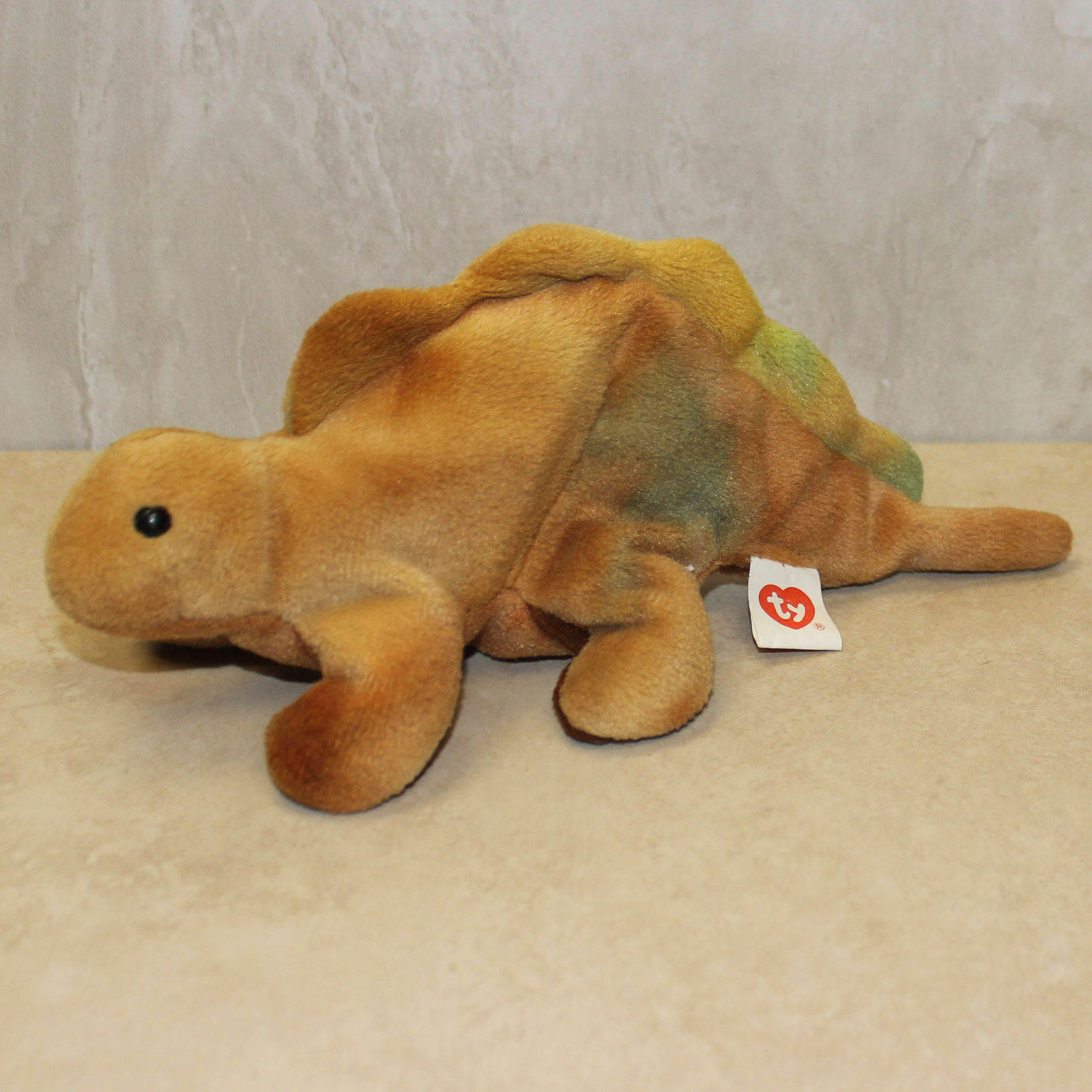 Steg ( Dinosaur ) - NO HANG TAG - 1st or 2nd gen tush Ty Beanie Baby (SP)