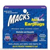 Mack's Macks Rubber Ear Plugs (ME2PR)
