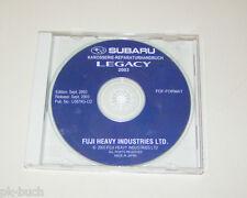 Werkstatthandbuch auf CD Subaru Legacy Karosserie Reparaturhandbuch - Stand 2003